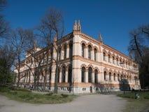 Zijkant van Milan Natural History Museum Royalty-vrije Stock Fotografie