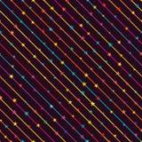 Zijlijnster die naadloos patroon hangen stock illustratie