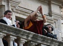 Zijn Heiligheid Dalai Lama Stock Afbeelding