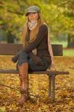 Zijn Herfst! Stock Foto's