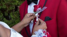 Zijn Prom! stock foto