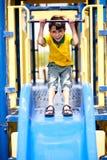 Zijn speelkwartier Stock Foto