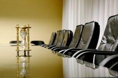 Zijn tijd voor commerciële vergadering royalty-vrije stock fotografie