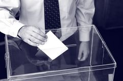 Zijn tijd voor verkiezingen stock foto's