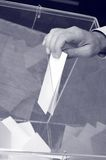 Zijn tijd voor verkiezingen stock afbeeldingen