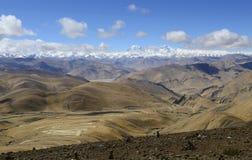 De manier aan Tibet Royalty-vrije Stock Foto's