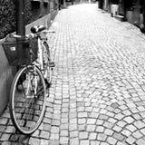 Zijstraat in Stockholm Stock Afbeeldingen