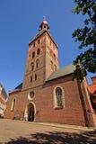 Zijvoorgevel van Dom van Riga Royalty-vrije Stock Afbeeldingen