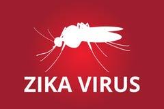 Zika病毒 免版税库存图片