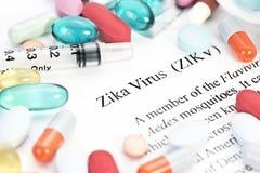 Zika病毒 库存照片