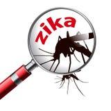 Zika de virus illustration stock