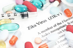 Zika-Virus Stockfoto