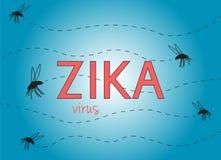 Zika-Virus Lizenzfreies Stockbild