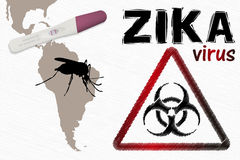 Zika Virus Alert Royalty Free Stock Image