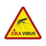 Zika virus alert Royalty Free Stock Images