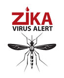 Zika virus alert Stock Photography