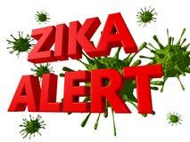 Zika virus alert Royalty Free Stock Photo