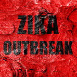 Zika virus concept background Royalty Free Stock Photography