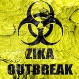 Zika virus concept background Stock Image