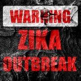 Zika virus concept background Royalty Free Stock Photos