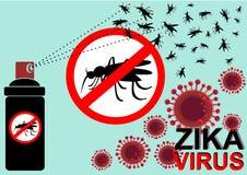 Zika virus Stock Photography