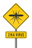 Zika Virus Roadsign Royalty Free Stock Photos