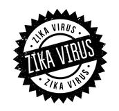 Zika Virus rubber stamp. Grunge design with dust scratches. Effects can be easily removed for a clean, crisp look. Color is easily changed Royalty Free Stock Images