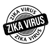Zika Virus rubber stamp. Grunge design with dust scratches. Effects can be easily removed for a clean, crisp look. Color is easily changed Royalty Free Stock Photos