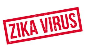 Zika Virus rubber stamp. Grunge design with dust scratches. Effects can be easily removed for a clean, crisp look. Color is easily changed Stock Photos