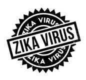 Zika Virus rubber stamp. Grunge design with dust scratches. Effects can be easily removed for a clean, crisp look. Color is easily changed Royalty Free Stock Photo