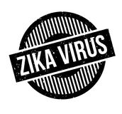 Zika Virus rubber stamp. Grunge design with dust scratches. Effects can be easily removed for a clean, crisp look. Color is easily changed Royalty Free Stock Photography