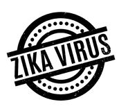 Zika Virus rubber stamp. Grunge design with dust scratches. Effects can be easily removed for a clean, crisp look. Color is easily changed Royalty Free Stock Image