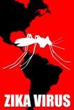 Zika virus Stock Image