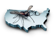Zika Virus In The United States Royalty Free Stock Photo