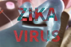 Zika virus Stock Image