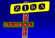 The Zika virus Royalty Free Stock Images
