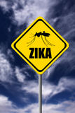 Zika warning Royalty Free Stock Image