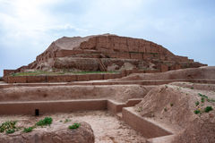 Zikkurat Choqa Zanbil Стоковое Фото