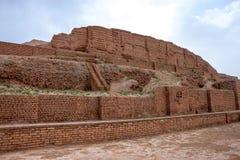 Zikkurat Choqa Zanbil stock image