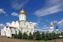 Zilant monastery in Kazan, Russia Stock Photos