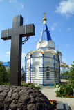 Zilant's orthodox monastery in Kazan Royalty Free Stock Photography