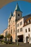 Zilina city - Slovakia, Marianske Square Stock Photography
