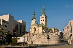 Zilina - Dreiheits-Kathedrale Lizenzfreies Stockbild