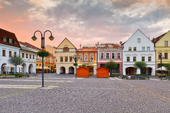 Zilina. Main square in the city of Zilina in central Slovakia stock photography