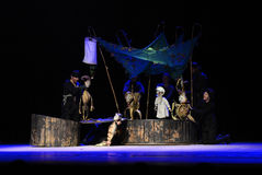 Zilina Puppet Theatre performs the story of Peter Pan Royalty Free Stock Photo
