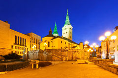Zilina. Square in the city of Zilina in central Slovakia royalty free stock image