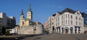 Zilina - Trinity Cathedral royalty free stock photography