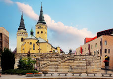 Zilina - Trinity Cathedral Stock Image