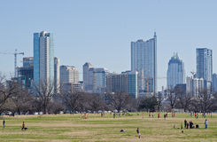 Zilker park in Ausitn Royalty Free Stock Image