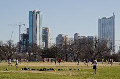 Zilker park in Ausitn Stock Photo
